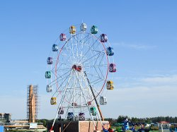Amusement Park Fair Wheel