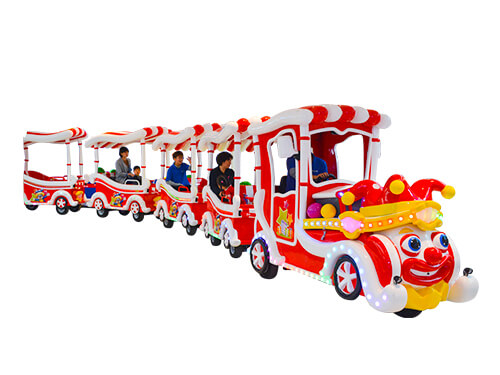 Amusement Park Trackless Train New Design