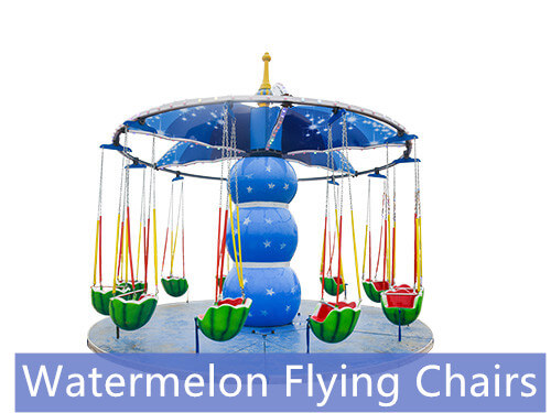 Watermelon Flying Chairs