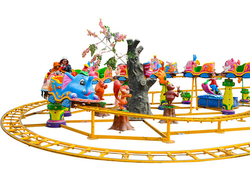 Space Theme Kiddie Roller Coast