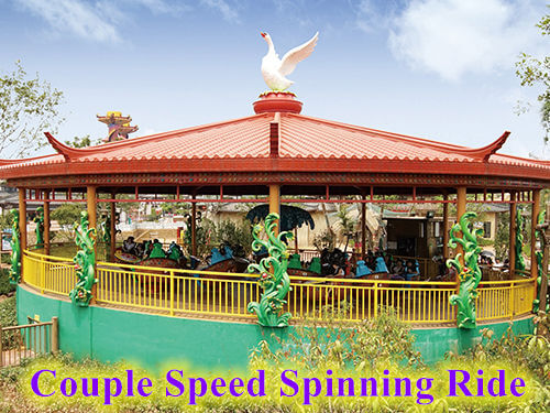 Couple Speed Spinning Ride