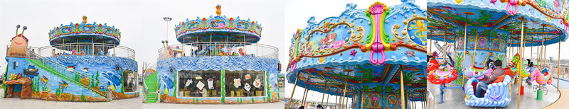 ocean theme fairground carousel-jasonrides