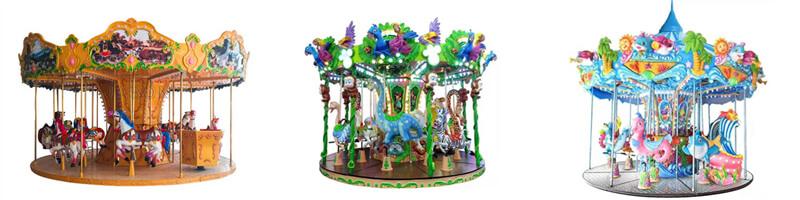 carnival carousel, fairground carousel ride for sale