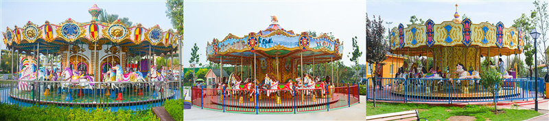 What is the top drive carousel ride