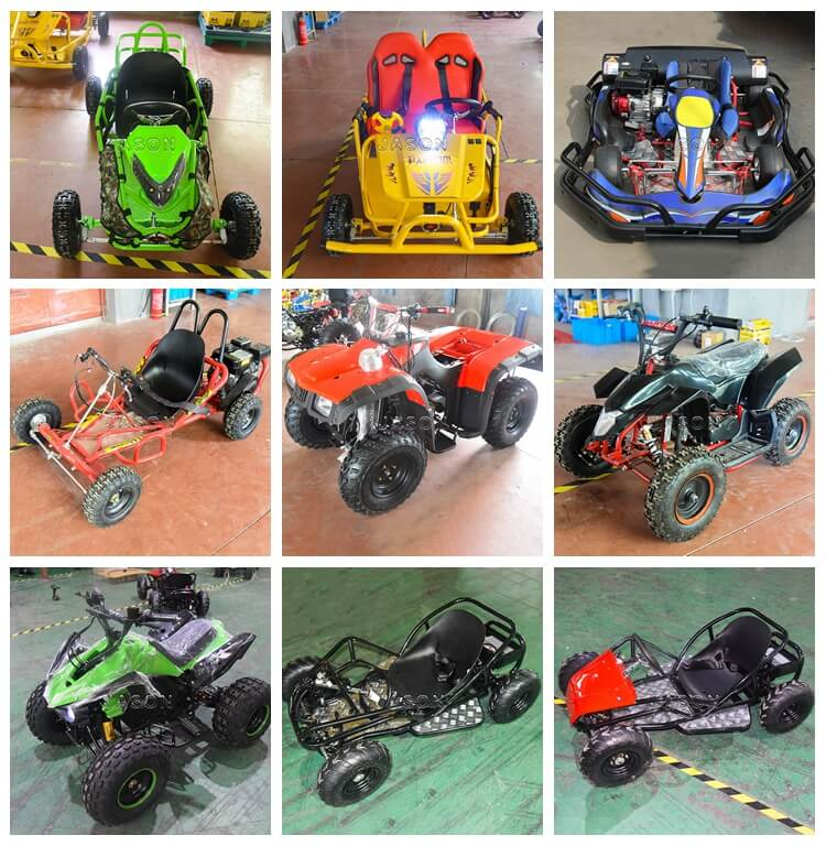 various electric go kart