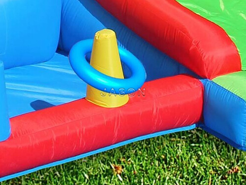 inflatable castle with slide for sale