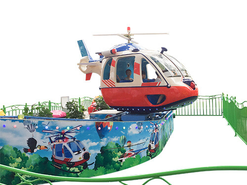 Helicopter Mini Flying Car Ride