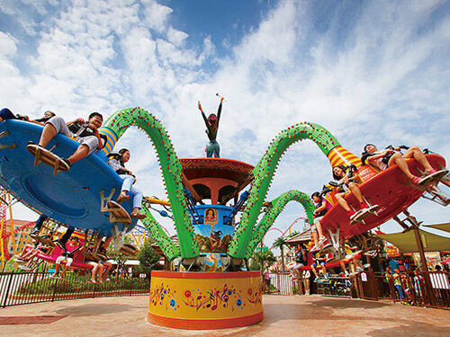 Magic Big Straw Hat Jumping Ride